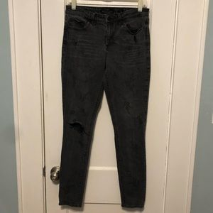 Black Lucky Brand Jeans with floral print